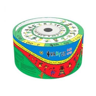 Носители информации KAKTUZ DVD-R 4,7 Gb 8-16x Bulk 50 pcs