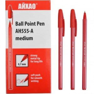 Ручка AH-555 АЙХАО Original червона