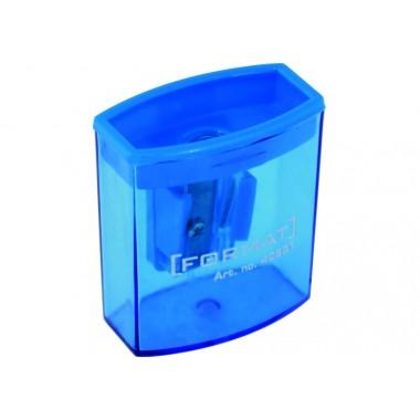 Чинка пластикова на 1 лезо з контейнером асортi
