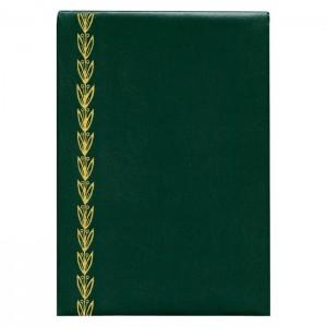 Папка Адресна 221*320 зелена колосок