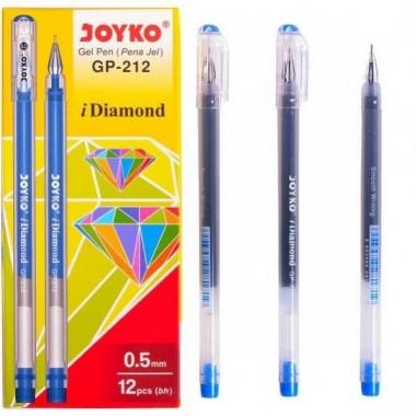 Ручка гелева GP-212 JOYKO, синя