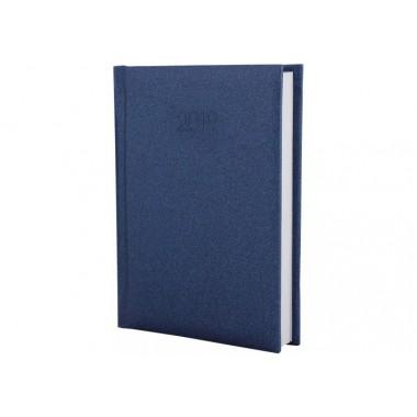 Щоденник датований 2019, SAND, темно-синій, А6