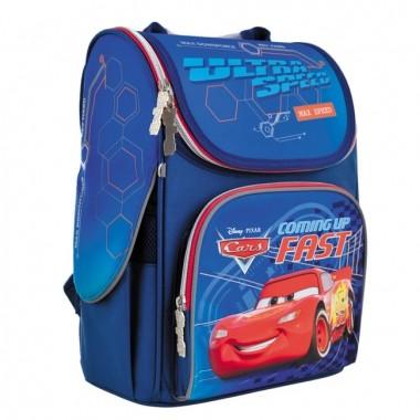 Рюкзак шкільний каркасний 1 Вересня H-11 Cars