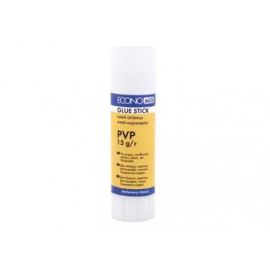 Клей-карандаш Economix, основа PVP, 15г E41219