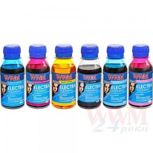 Комплект чорнил WWM ELECTRA для Epson водорозчинне 6х100г B/C/M/Y/LC/LM (ELECTR.SET62)