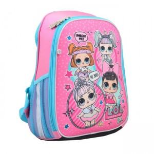 Рюкзак шкільний, каркасний H-27, LOL Sweety