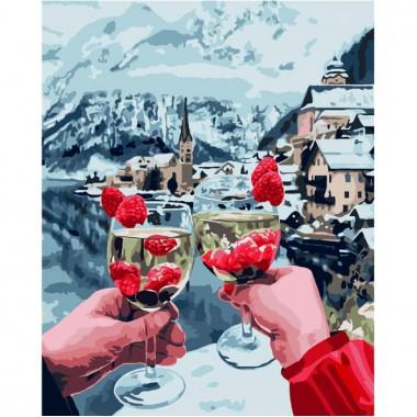 Картина по номерам Идейка игристое настроение 40 * 50 см кисти + краски в комплекте