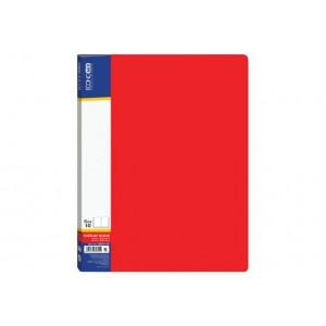 Папка А4 с 10 файлами Economix, красная E30601-03