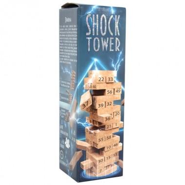 Розважальна гра 30858 (укр) Shock Tower, в коробці 28-8,2-8,2 см