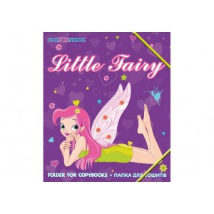 """Папка пластиковая на резинках """"Little Fairy"""", В5"""