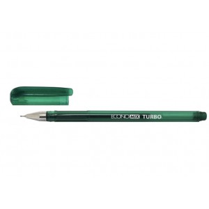 Ручка гелевая ECONOMIX TURBO 0,5 мм, зеленая