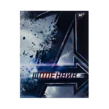 Щоденник шкільний YES інтегральний Direction, Marvel ирридиум