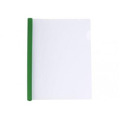 Папка А4 Economix з планкою-затиском 10 мм (2-65 аркушів), зелена