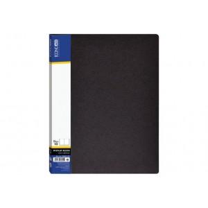 Папка А4 с 10 файлами Economix, черная E30601-01