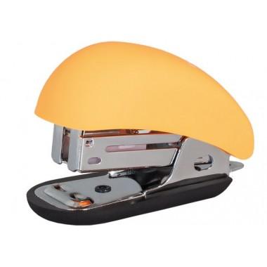 Степлер №24 / 6, 26/6 мини Optima, до 12 л, Soft Touch, пласт. корпус, оранжевый O40263-06