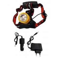 Ліхтарик на лоб світлодіодний акумуляторний WD259 – 2LITE