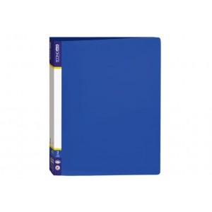 Папка пластиковая А4 Economix на 2 кольца, синяя E30701-02