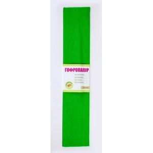 Папір гофр. св.-зелен. 55% (50см*200см)
