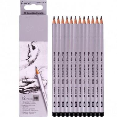 Олівець простий 7000/12 8B MARCO