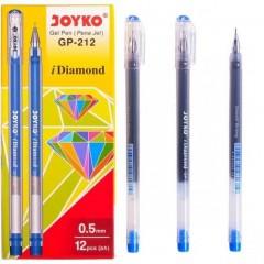 Ручка гелевая GP-212 JOYKO, синяя