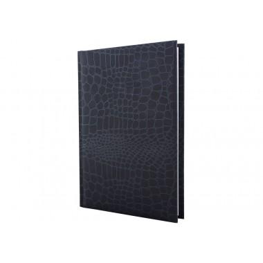Щоденник недатований, CROCO, сірий матовий, А5