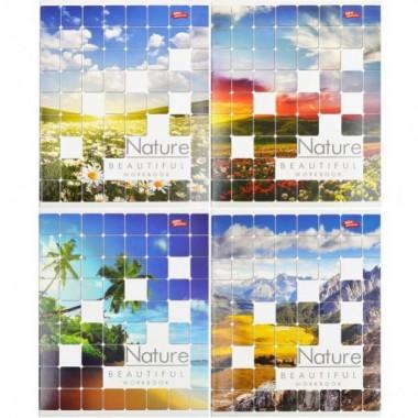 Зошит кольорова 96 аркушів, лінія «Природа»