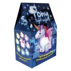 Набір для творчості 30704 (укр) Pony light night, в коробці 19,7-12-8см