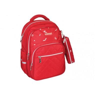 """Рюкзак шкільний 16,5 """","""" College """", Red, 400 CF86150"""