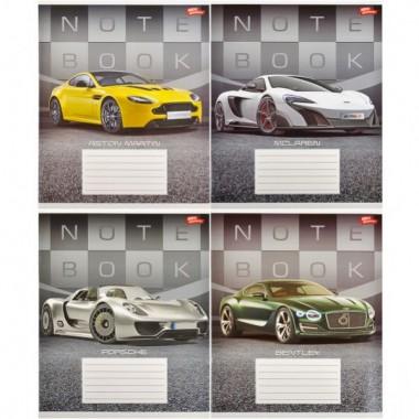 Зошит кольорова 36 аркушів, лінія «Престижні авто»