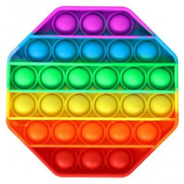 Антистресс POP IT  игрушка силиконовая шестигранник