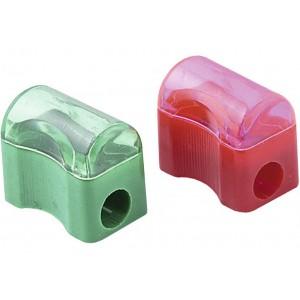 Точилка пластиковая с контейнером, Economix