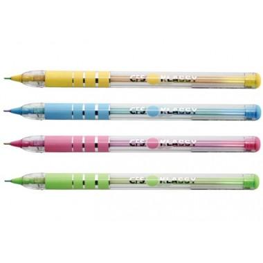 Ручка шариковая KLASSY, корпус ассорти, пишет синим 0,7 мм