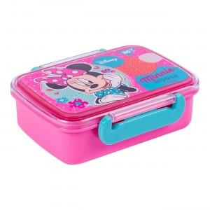 Контейнер для еды YES Minnie Mouse, 420мл, с разделителем