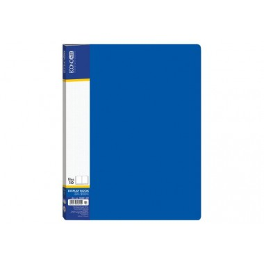 Папка А4 с 40 файлами Economix, синяя E30604-02