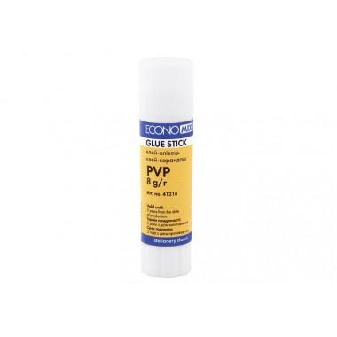 Клей карандаш Economix, основа PVP, 8 E41218