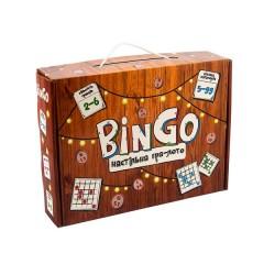 Настільна гра-лото 30757 (укр) BinGo, в коробці 24,6-18,3-5,5 см