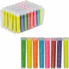 Блискітки неонові 5г, 8 кольорів 50 шт. в упаковці (ціна за 1 шт.)