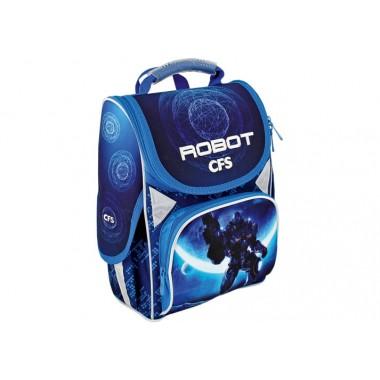 """Ранец школьный каркасный 13,4 """","""" Robot Space """"701 CF85810"""
