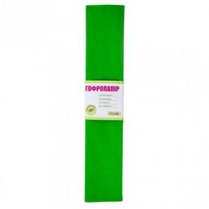 Папір гофрований 1вересня світло-зелений 110% (50см * 200см)
