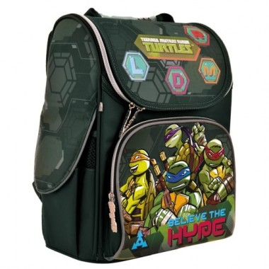 Рюкзак школьный каркасный 1 Вересня H-11 Tmnt