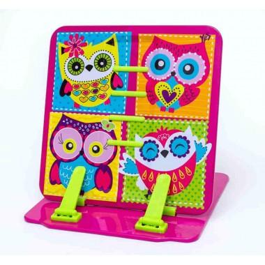 """Підставка для книг кольорова металева """"Owl"""""""