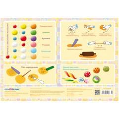 Коврик для детского творчества Лепим из пластилина