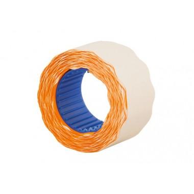 Этикетки-ценники фигурные 26х12 мм Economix, 500 шт / рул., Оранжевые E21304-06