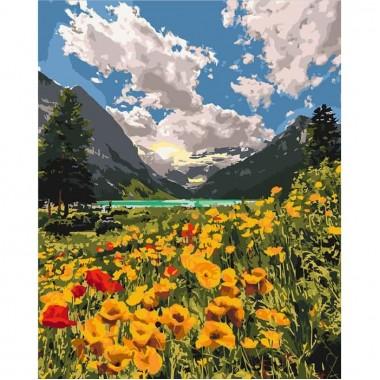 Картина за номерами  Величні Альпи  40*50см