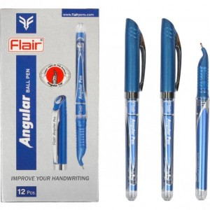 """Ручка масляная """"Левша"""" FLAIR синяя"""