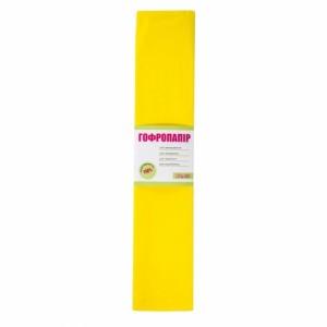 Папір гофрована 1вересня жовта 110% (50см * 200см)