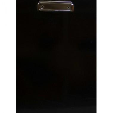 Планшет  із затиском А4, палітурний картон,ламінований,чорний колір