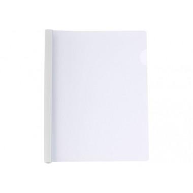 Папка А4 Economix с планкой-зажимом 6 мм (2-35 листов), белая