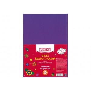 Фетр листовой (полиэстер), 20х30см, 180г / м2, фиолетовый