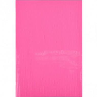 """Блокнот А4 """"Графіка"""" 60л., клітка, пласт.обл., скоба рожевий"""